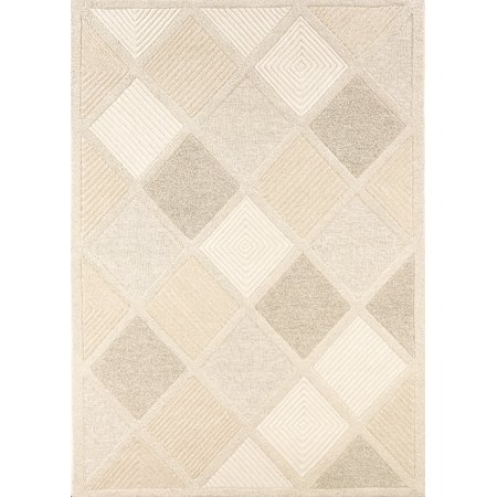 Couristan Super Indo-Natural Astra Rug In White - (2 Foot x 4 Foot) ()