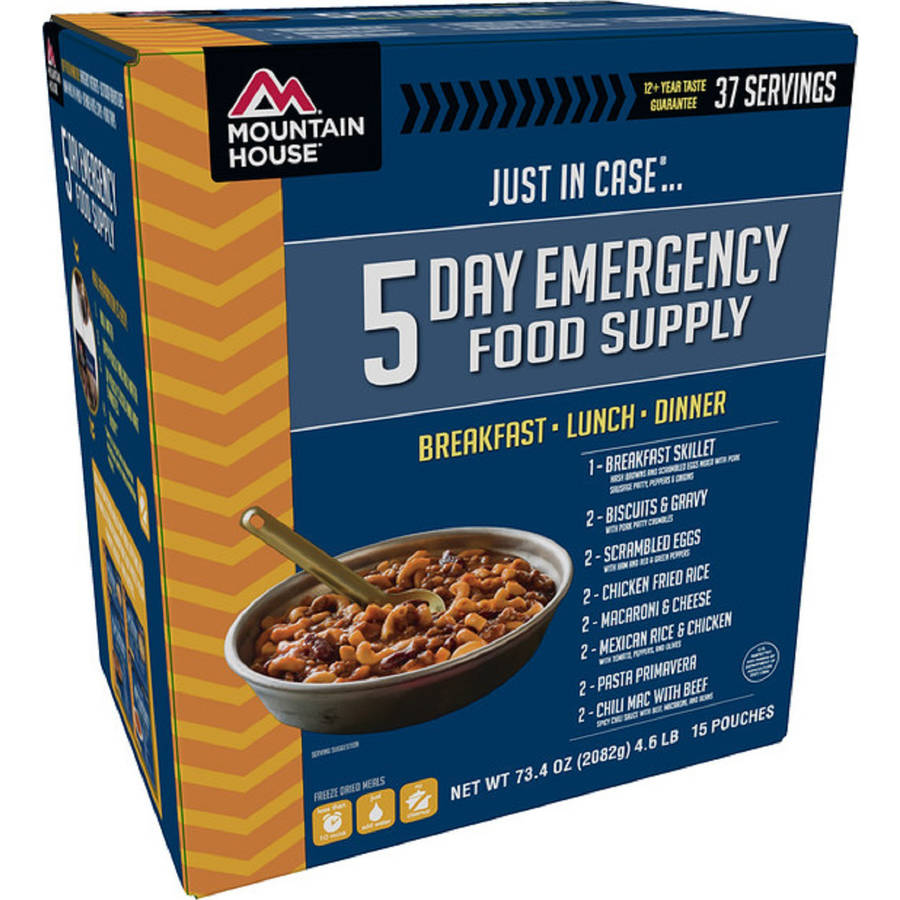 Mountain House Just In Case...® 5-Day Emergency Food Supply