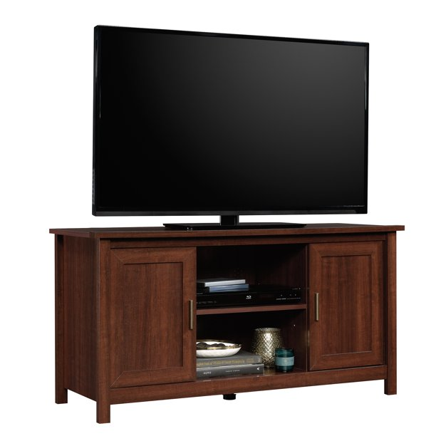 "Sauder Brookland TV Stand for TVs up to 47"", Select Cherry Finish"