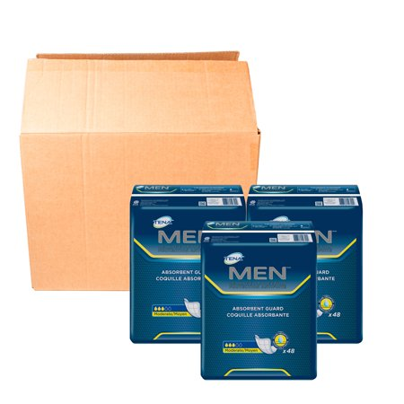 Tena Incontinence Guards for Men, Moderate, 144 Ct