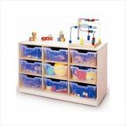 Whitney Bros WB0912T 12-Tray Storage Cabinet