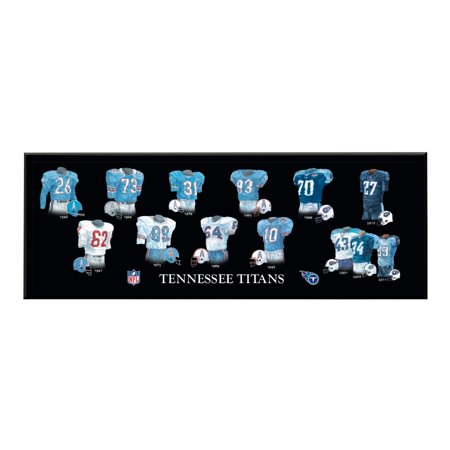 Winning Streak - NFL Uniform Plaque, Tennessee - Tennessee Titans Cube