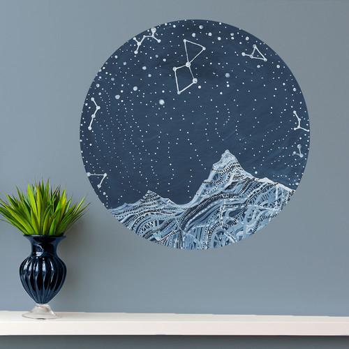 My Wonderful Walls Lyra Constellation Wall Decal