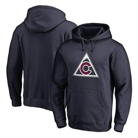 Avalanche Pullover - Colorado Avalanche Fanatics Branded Team Alternate Pullover Hoodie - Navy