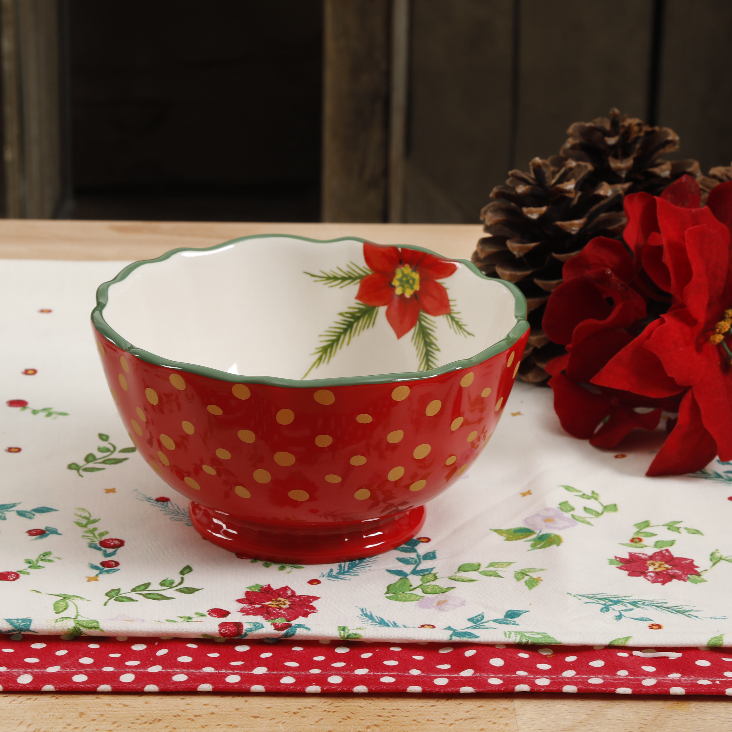 The Pioneer Woman Garland 6.25-Inch Bowl