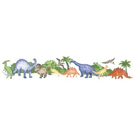 Dinosaur Scene Wall Stencil SKU #3070 by Designer Stencils