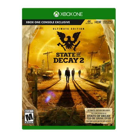 State of Decay 2: Ultimate Edition, Microsoft, Xbox One, 889842320411