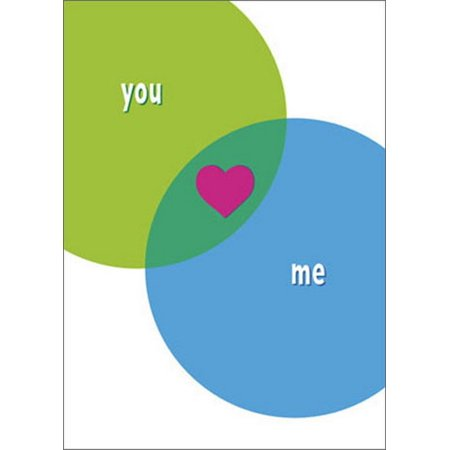 Avanti Press Venn Diagram Love A*Press Valentine's Day