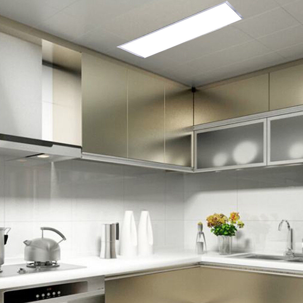 Led Ceiling Panel Light 24 X Recessed Flat Down For Home Office Commercial Lighting 36w 48w 3840lm 5pcs