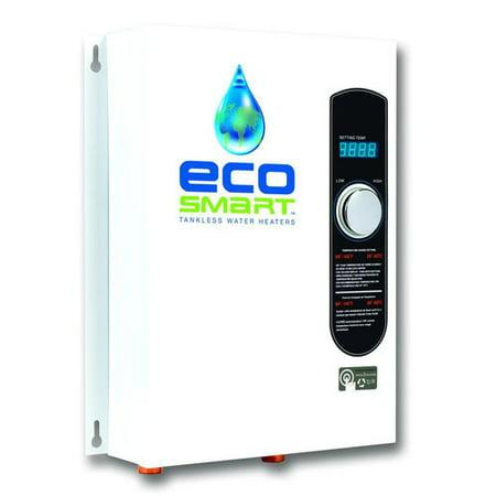 ecosmart eco18 18 kw 240v electric tankless water heater. Black Bedroom Furniture Sets. Home Design Ideas