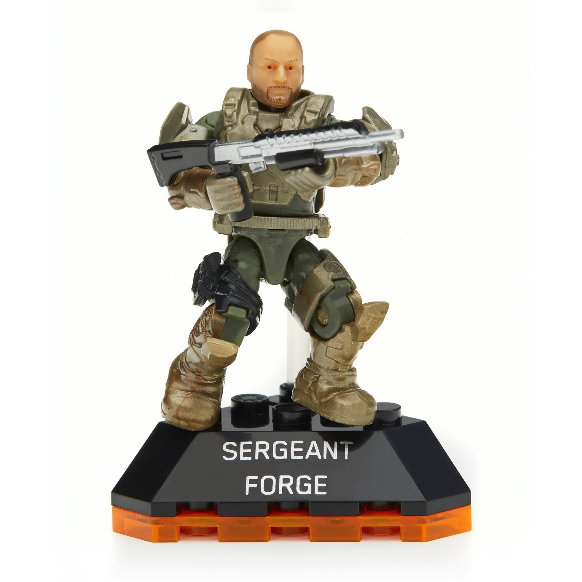 Mega Bloks Halo Heroes Sergeant Forge