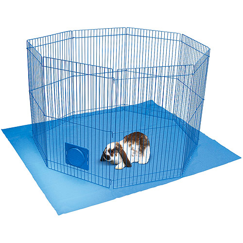 Super Pet Pet N' Playpen Small Animal Cage, Small