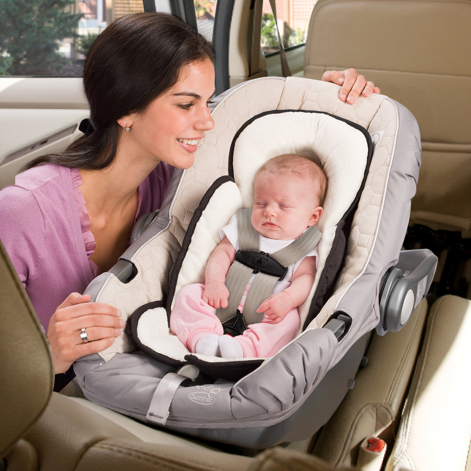 Summer Infant Snuzzler, Velboa Insert For Car Seat, Infant