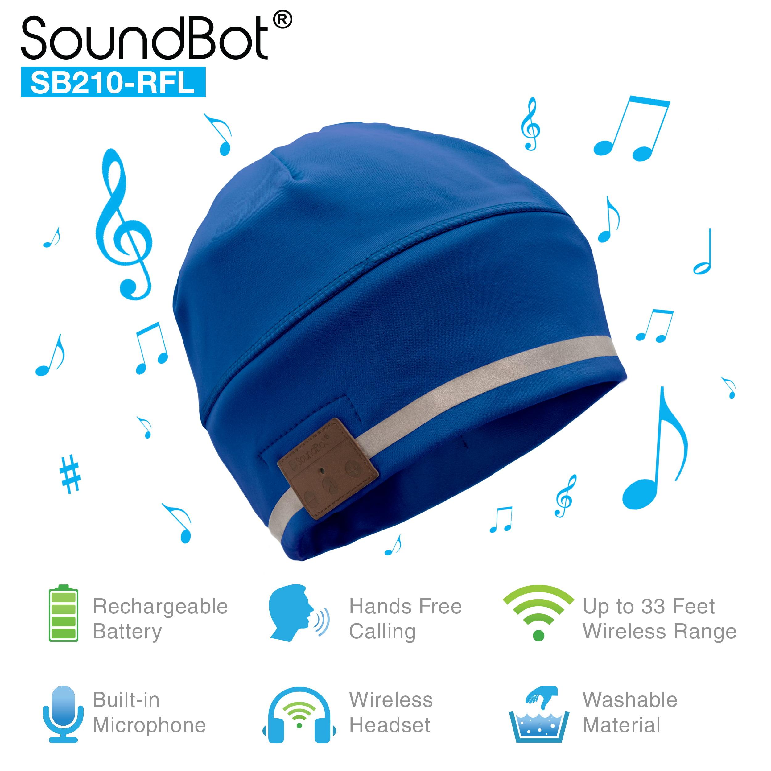 HD Stereo Bluetooth 4.1 Hat Smart Beanie Headset Musical Speakerphone Cap
