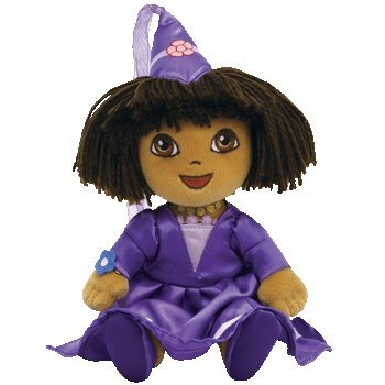 Cp New Ty Beanie Babies Fairytale Dora (Dora the Explorer) Plush Stuffed Animal Plush... by