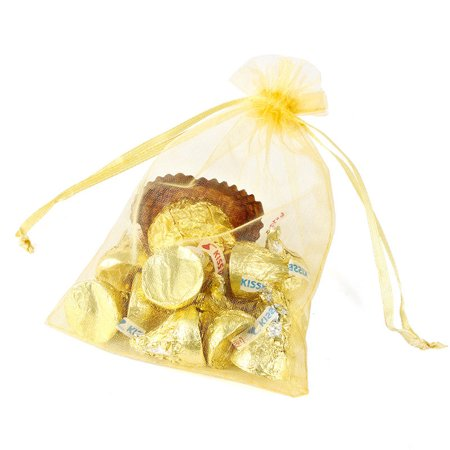 Organza Wedding Party Favor Bags 4x6 Inches Decoration Gift Candy