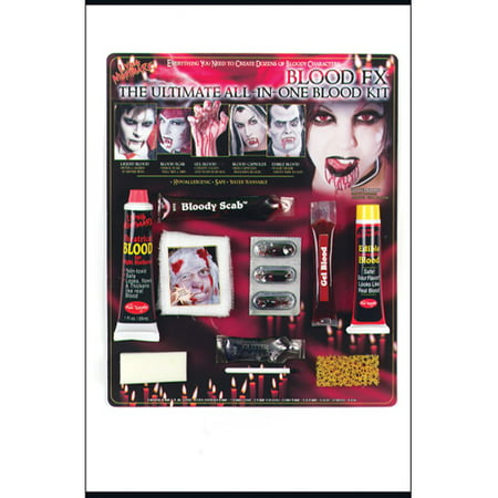 Ultimate Blood Kit Adult Halloween Accessory