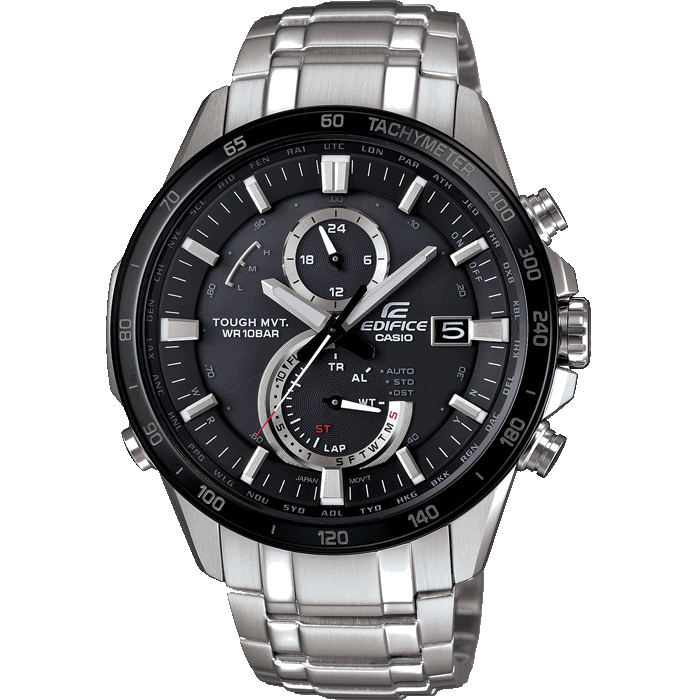 Casio EDIFICE EQW-A1400DB-1A Solar Radio Controlled Chrono by Casio
