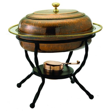 Antique Copper over Stainless Steel Chafing Dish