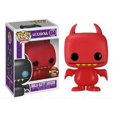 Ninja Batty Shogun Red Uglydoll Funko Pop Vinyl Sdcc