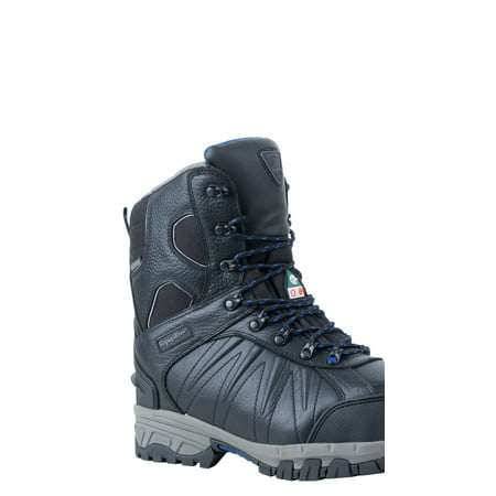 14 Inch Premium Boots - RefrigiWear Men's Extreme Insulated Waterproof 8-Inch Leather Freezer Work Boots