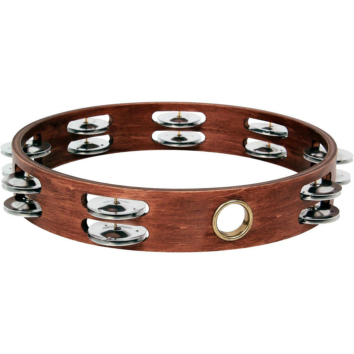 Gon Bops Double Row Wooden Tambourine by Gon Bops