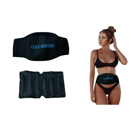 Cool Slender Fat Freezing System - Freeze Fat Cells at Home - Fat Loss with Cold Body Sculpting Wrap Belt - Reduce Tummy and Shape (Tips To Reduce Stomach Fat At Home)