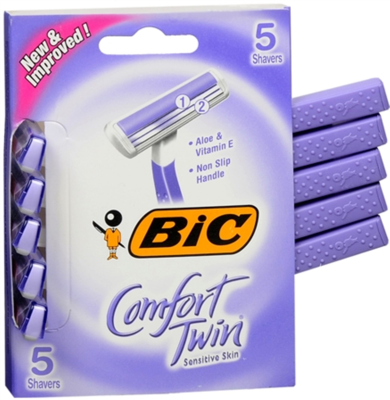 Bic Softwin Disposable Shaver For Womens -  5 Ea