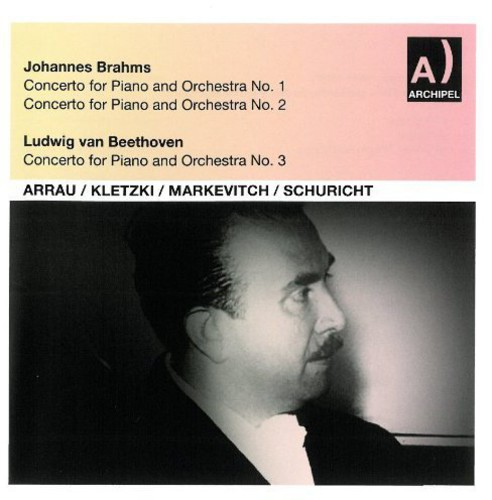 J. Brahms - Concerto for Piano & Orchestra No. 1 [CD]