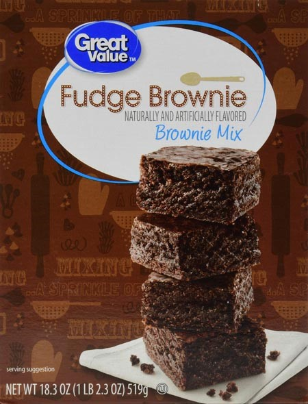 How to make fudge brownie mix