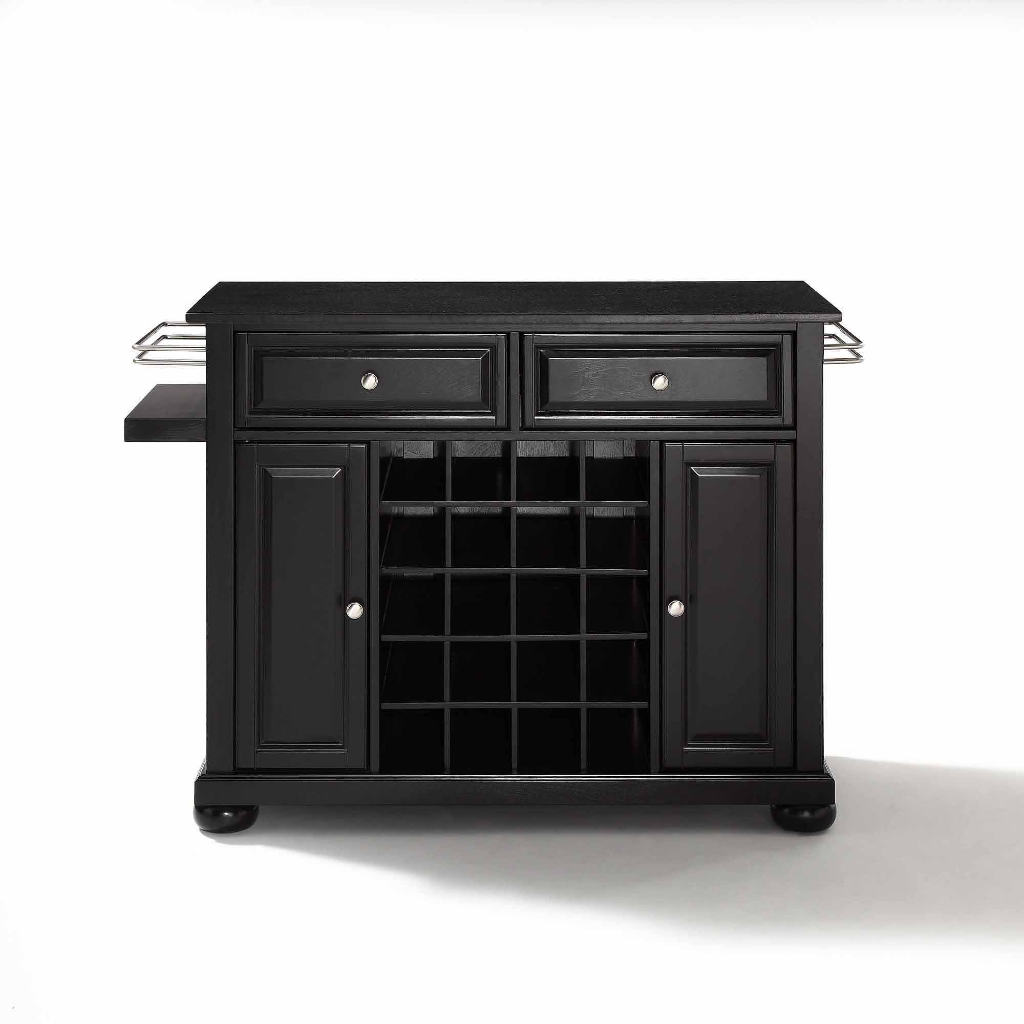 Crosley Kitchen Cart Granite Top Crosley Alexandria Kitchen Island With Black Granite Top Best