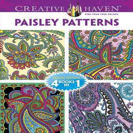 Paisley Patterns Adult Coloring Book - Walmart.com