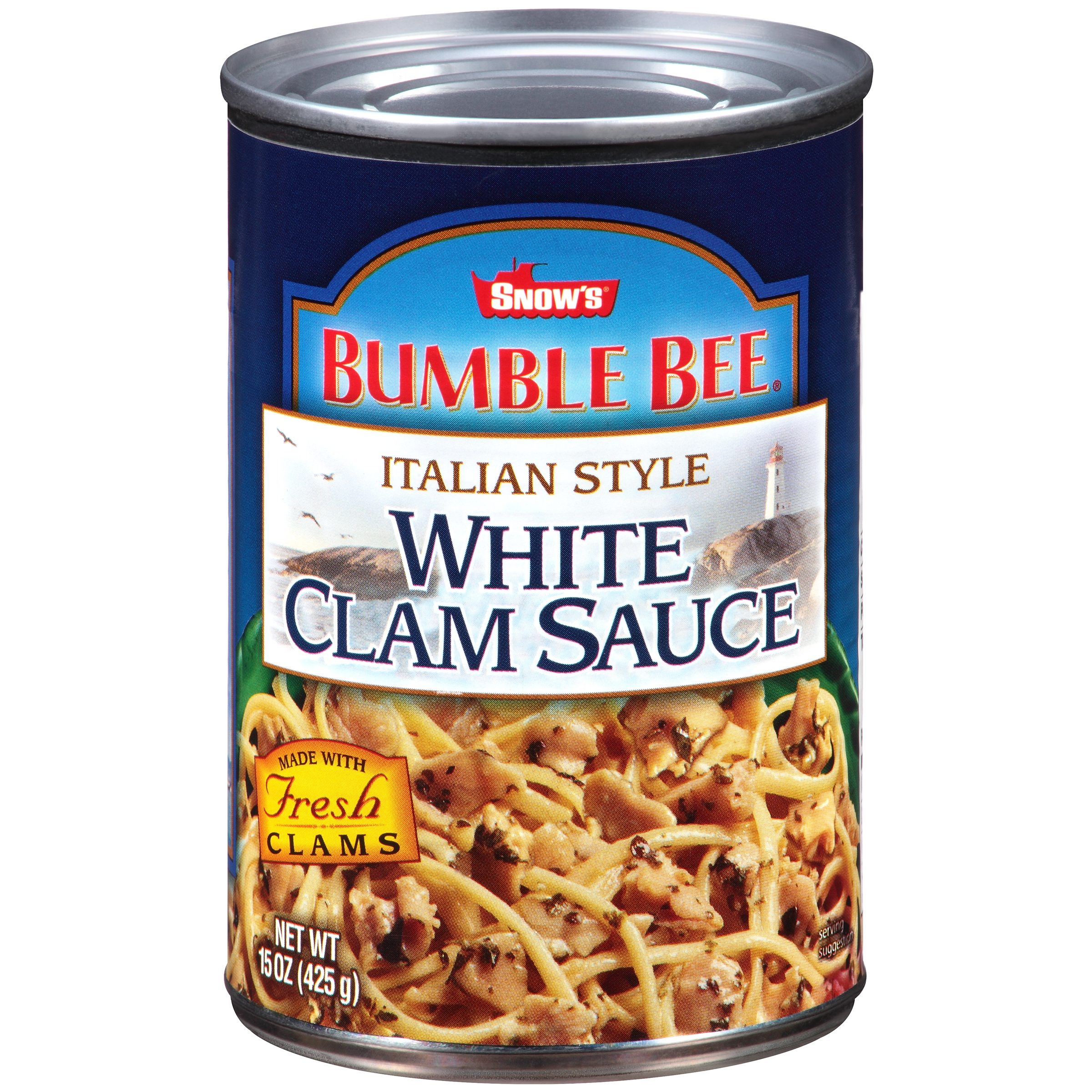 Bumble Bee Italian Style White Clam Sauce, 15oz can
