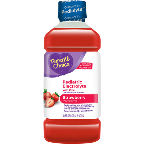 Parent's Choice Strawberry Pediatric Electrolyte Drink, 1 L