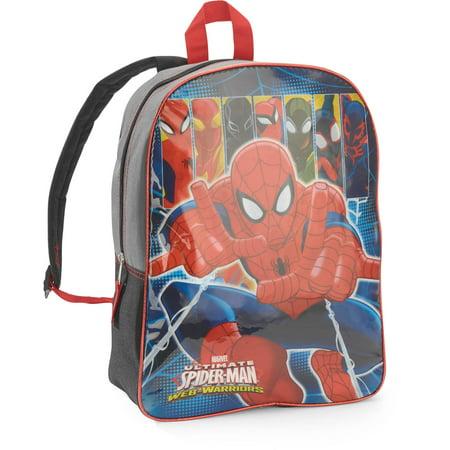 aeccd105e0 Spider-Man - Marvel Spiderman 15   Kids Backpack - Walmart.com