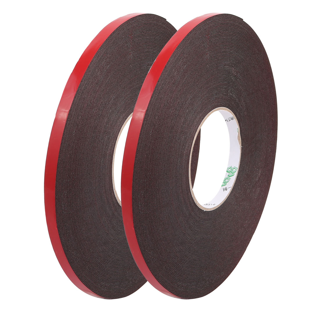 2pcs 10mmx1mm 30M Length PE Foam Sponge Tape Double Side Adhesive Marking Tool