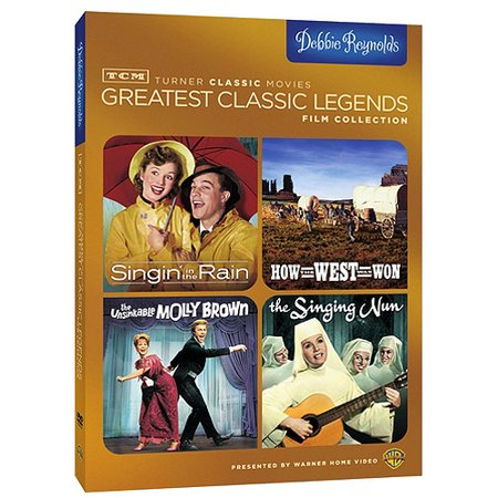 Tcm Greatest Classic Legends  Debbie Reynolds   Singin In The Rain   How The West Was Won   The Unsinkable Molly Brown   The Singing Nun