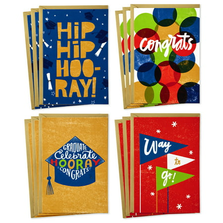 Sec Card (Hallmark Congratulations Cards Assortment (Boxed Set of 12 Cards with Envelopes))