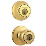 Kwikset Combination Set 440T/660 Polished Brass