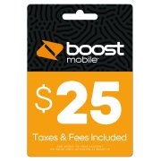 $25 Re-Boost Card (Email Delivery)