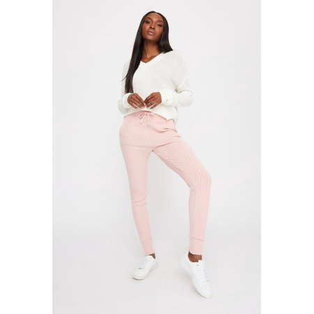 Urban Planet Women's Knit Ribbed Jogger - image 3 of 3