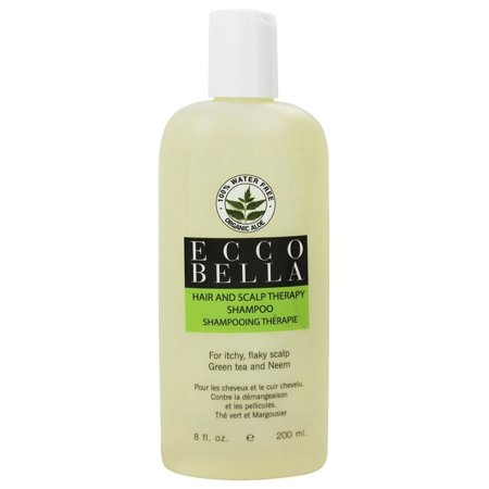 Ecco Bella - Holistic Remedies Hair and Scalp Therapy Shampoo Green Tea and Neem - 8.5 oz.