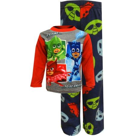 PJ Masks Time To Be A Hero Fleece Pajama
