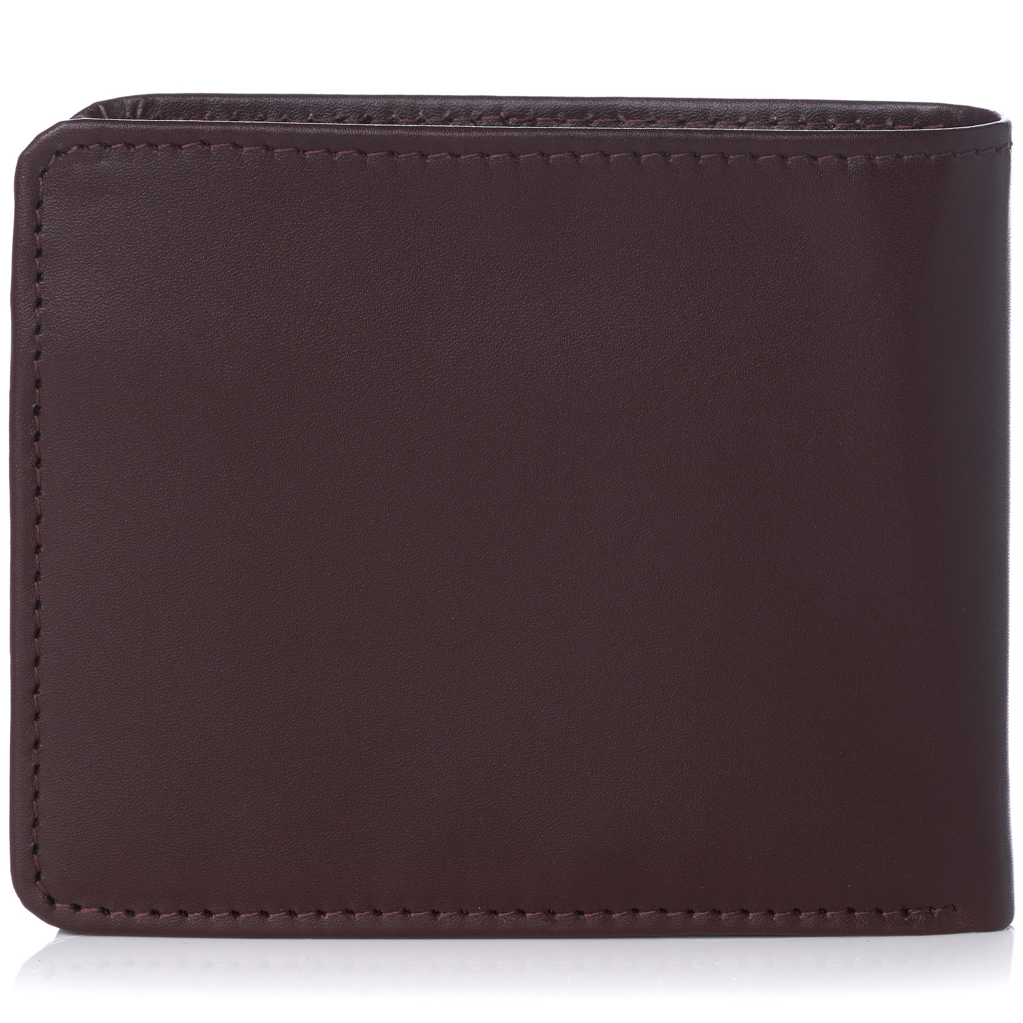 Alpine Swiss RFID Safe Mens Leather Wallet Deluxe Capacity Coin Pocket Bifold