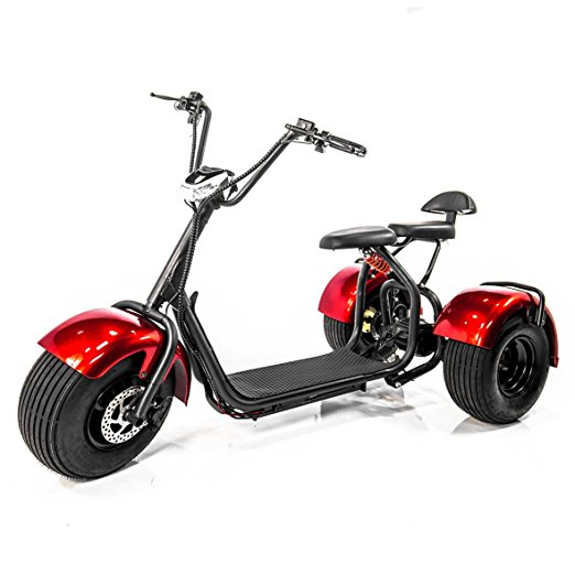 E-Wheels EW-21 CHOPPER TRIKE Fat Tires 3-wheel Electric Scooter by Karman Healthcare