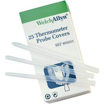 - Welch Allyn 05031- Plus Model 690 Electronic Thermometer Disposable Probe Covers (Pack of 250) By SureTemp