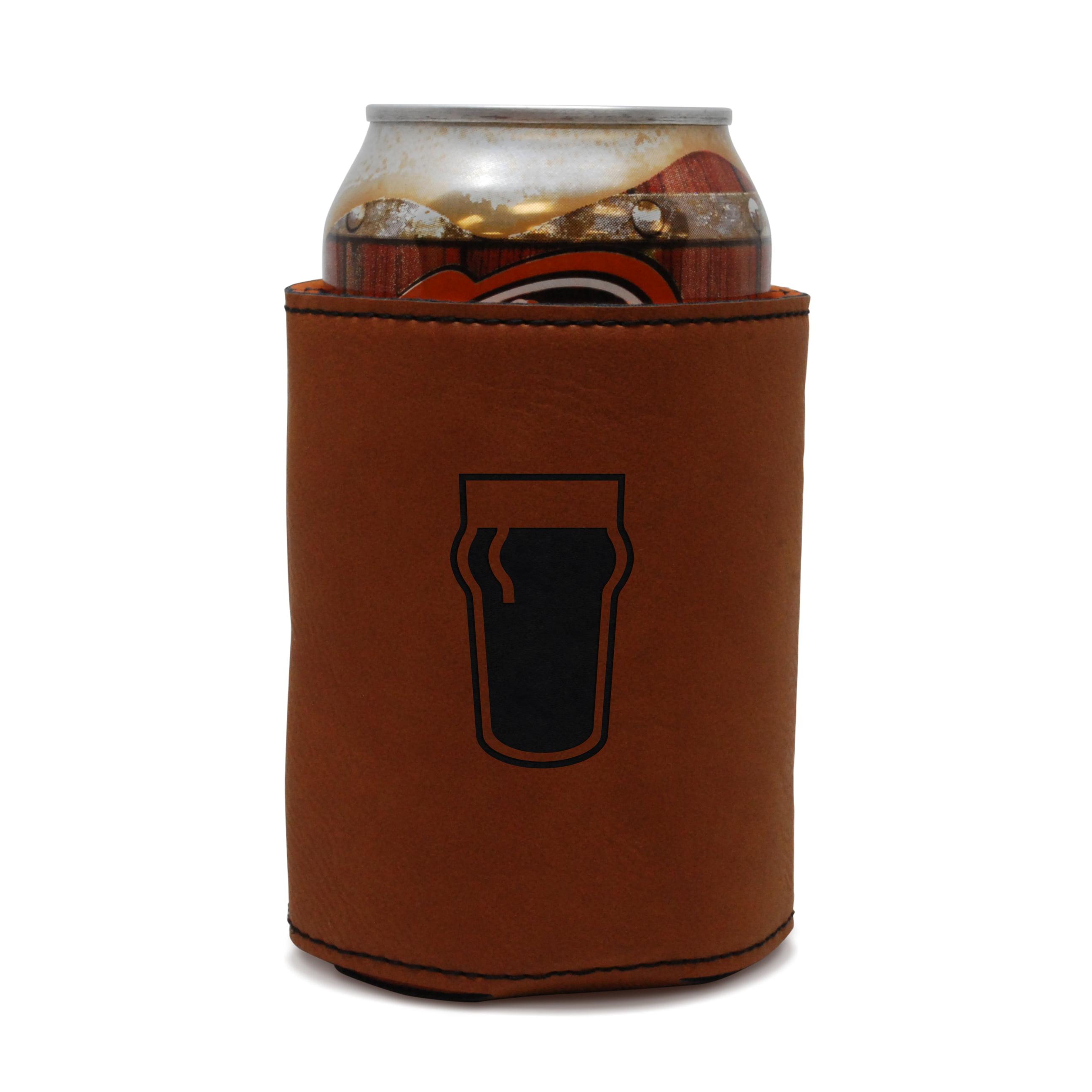 Pint Leather Can Sleeve, Beer Sleeve, Beer Cooler, Beer Hugger