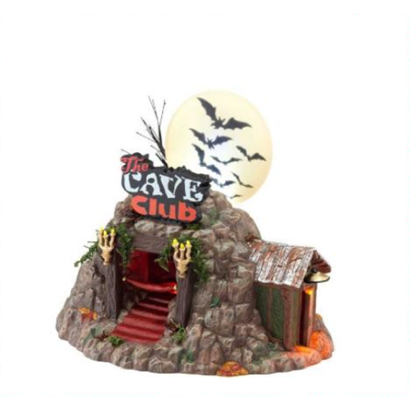 Fabric Club London Halloween (Department 56 Halloween Village The Cave Club 4025339)