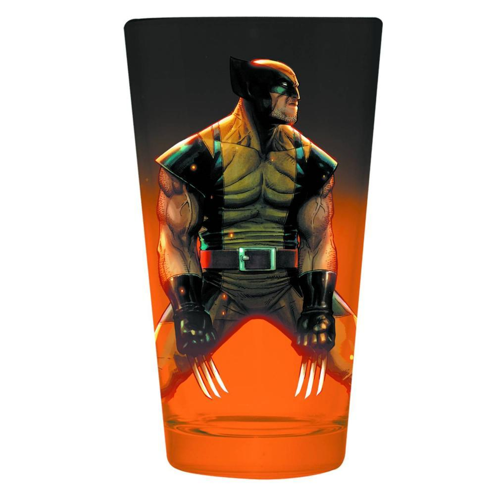 Marvel Wolverine Pint Glass