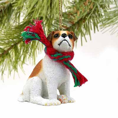 - Conversation Concepts Jack Russell Terrier Miniature Dog Ornament Brown & White